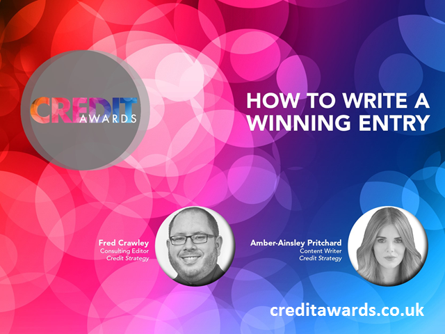 How to write a winning Credit Awards entry