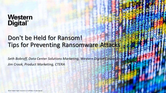 Don't be Held for Ransom! Tips for Preventing Ransomware