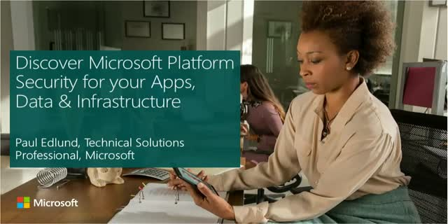 Discover the Benefits of Built-in Security for your Apps, Data & Infrastructure