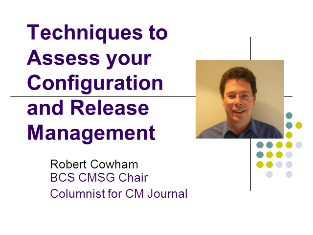 Techniques to Assess Your Configuration and Release Management