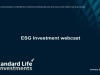 ESG Investment: from niche to mainstream