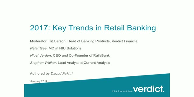 2017: Trends to watch for in Retail Banking