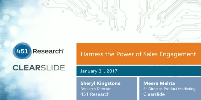 Harness the Power of Sales Engagement