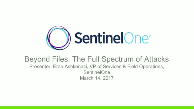 Beyond Files: The Full Spectrum of Attacks