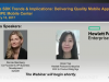 Mobile SDK Trends & Implications: Delivering Quality Mobile Apps with HPE Mobile