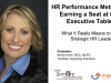 HR Performance Metrics & Earning that Seat at the Executive Table