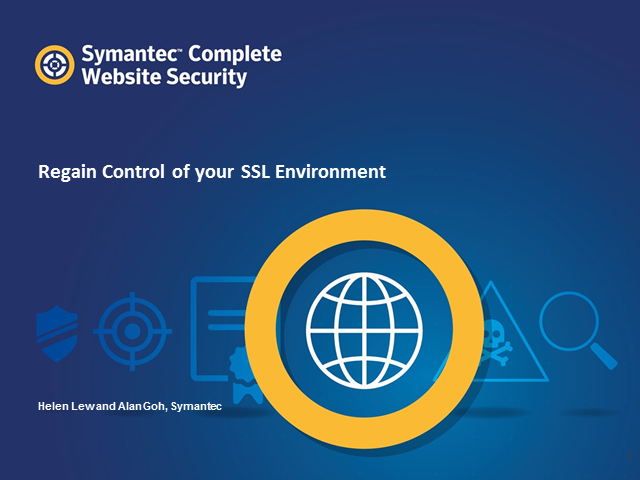 Regain control of your SSL Environment