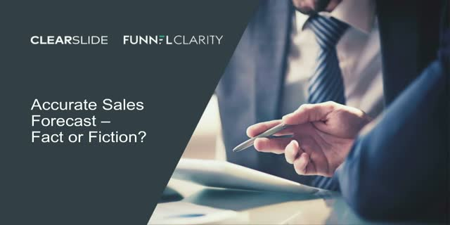 Accurate Sales Forecast – Fact or Fiction?