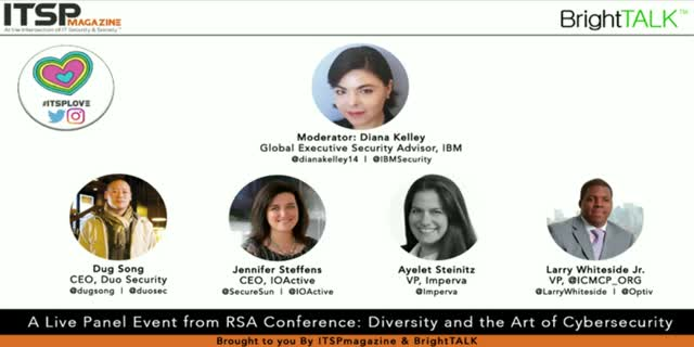 Diversity and the Art of Cybersecurity | RSAC Live Panel