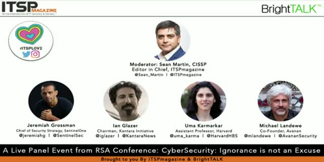 CyberSecurity: Ignorance is not an Excuse | RSAC Live Panel