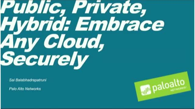 [Breach Prevention] Public, Private, Hybrid: Embrace Any Cloud, Securely