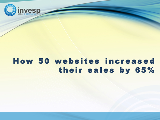How 50 Websites Increased Their Sales By 65%