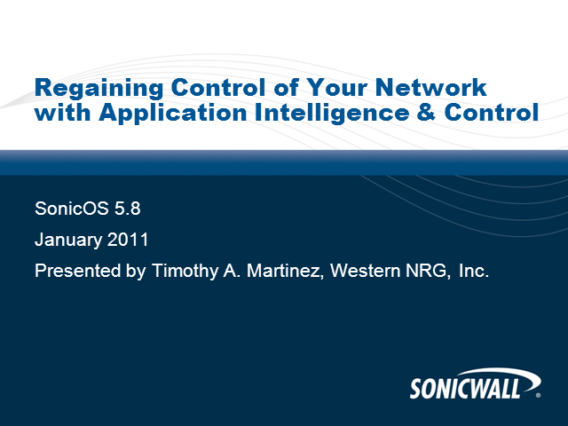 Regain Your Network Control With App Intelligence & Control