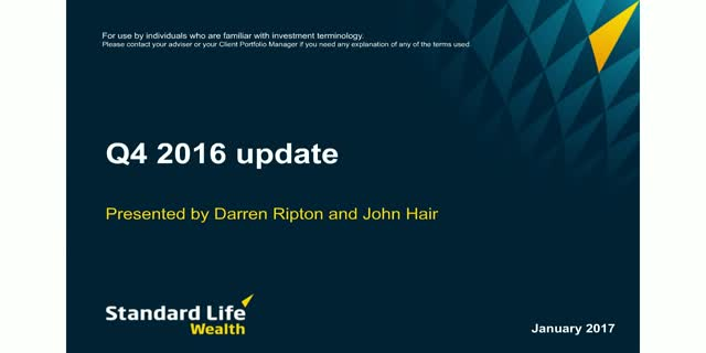Standard Life Wealth Quarterly Update Q4 2016