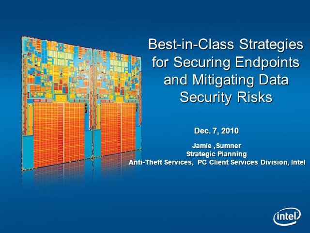 Securing Endpoints & Mitigating Data Security Risks