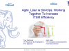 Agile, Lean & DevOps: Working Together to Increase ITSM Efficiency