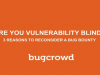 Are You Vulnerability Blind? 3 Reasons to Reconsider a Bug Bounty