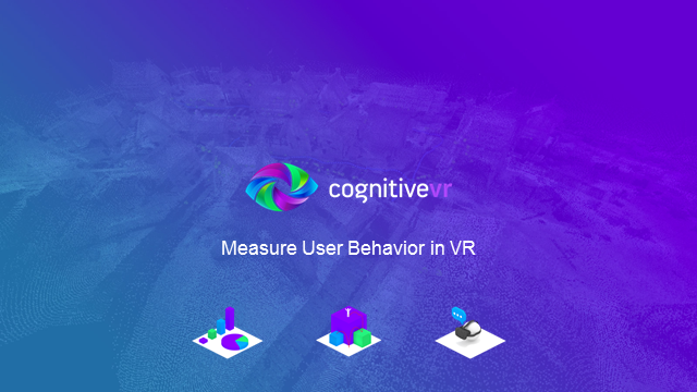 VR AR analytics platform to understand how users interact with virtual world
