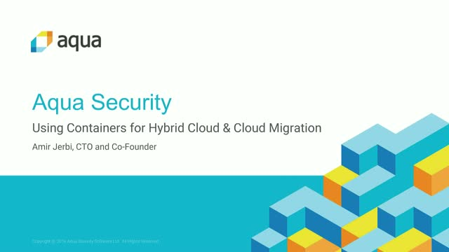 Using Containers for Hybrid Cloud & Cloud Migration