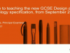 GCSE Design and Technology (from 2017): The new specification explained