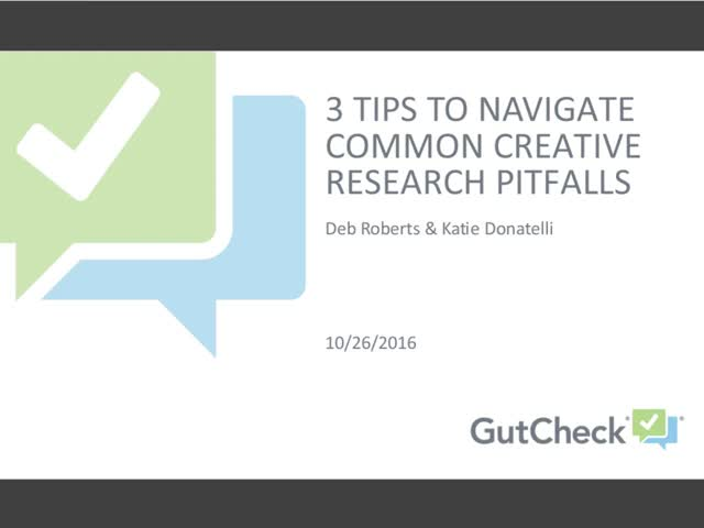 3 Tips to Navigate Common Creative Research Pitfalls