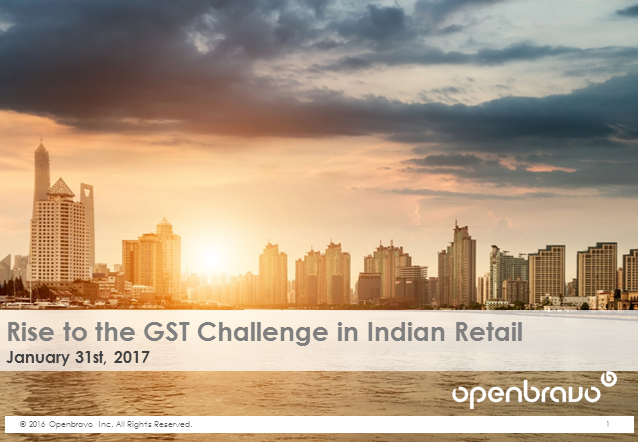 Rise to the GST Challenge in Indian Retail