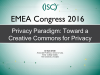 Privacy Paradigm: Toward a Creative Commons for Privacy