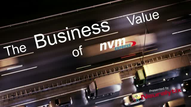 The Business Value of NVMe