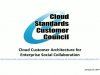 Cloud Customer Architecture for Enterprise Social Collaboration