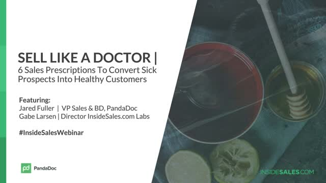 6 Sales Prescriptions to Convert Sick Prospects Into Health Customers Fast