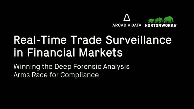 Real-Time Trade Surveillance in Financial Markets