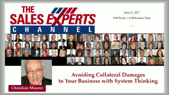 Avoiding Collateral Damages to your Business with System Thinking