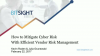 How to Mitigate Cyber Risk with Efficient Vendor Risk Management