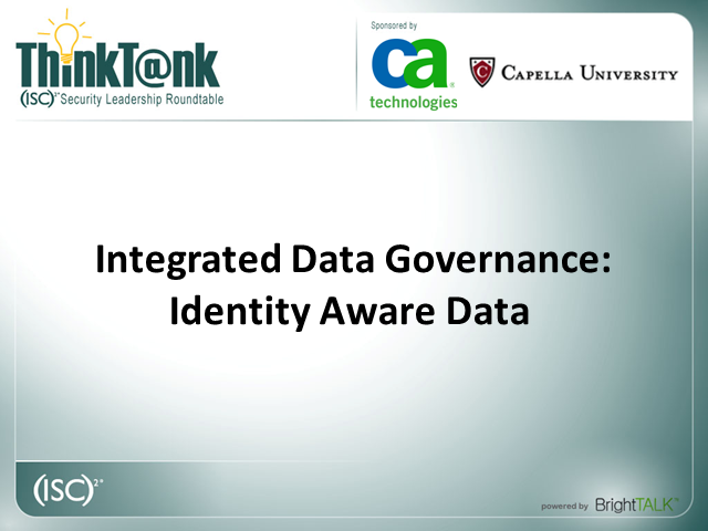Identity Aware Data Protection and Control