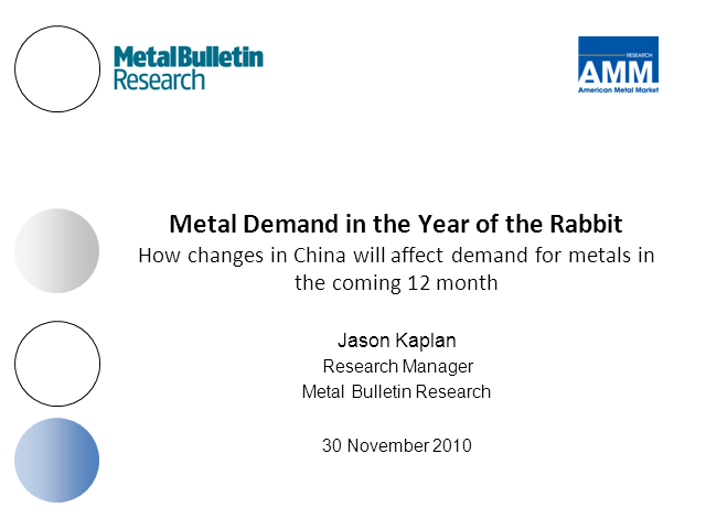 Metal demand in the Year of the Rabbit