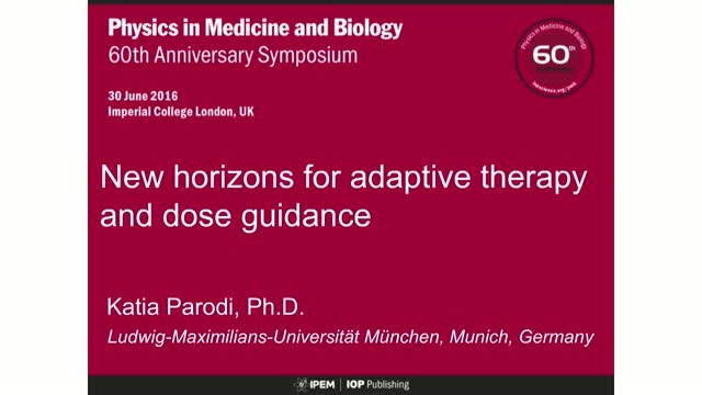 New horizons for adaptive therapy and dose guidance
