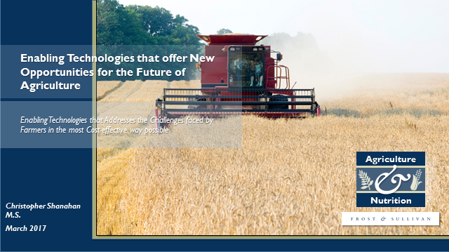 Innovations Contributing to the Overall Growth of Smart Agriculture Technology