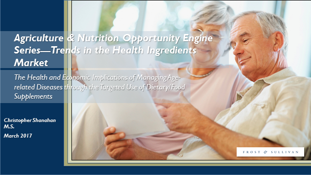 Agriculture & Nutrition Opportunity —Trends in the Health Ingredients Market