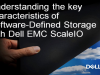 Understanding the key characteristics of Software-Defined Storage with Dell EMC
