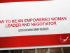 Let's Go Kick Some Glass – How to be an Empowered Woman Leader & Negotiator