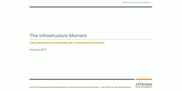 JP Morgan Investment Insights - The infrastructure moment