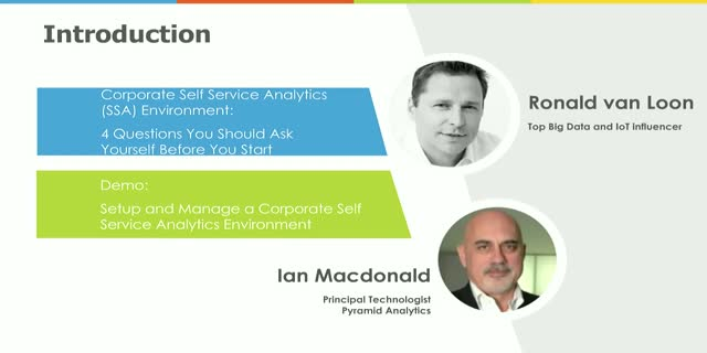 How to Setup and Manage a Corporate Self Service Analytics Environment