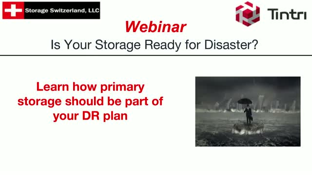 Is Your Storage Ready for Disaster?