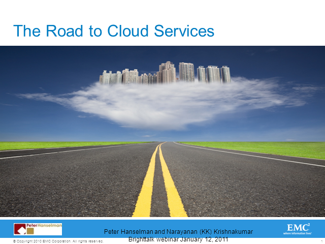 The Road to Cloud Computing - A Manager's Approach