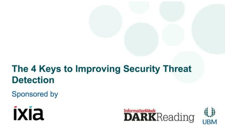The 4 Keys to Improving Security Threat Detection