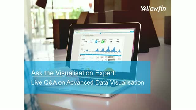 Ask the Visualization Expert: Live Q&A on Advanced Data Visualization