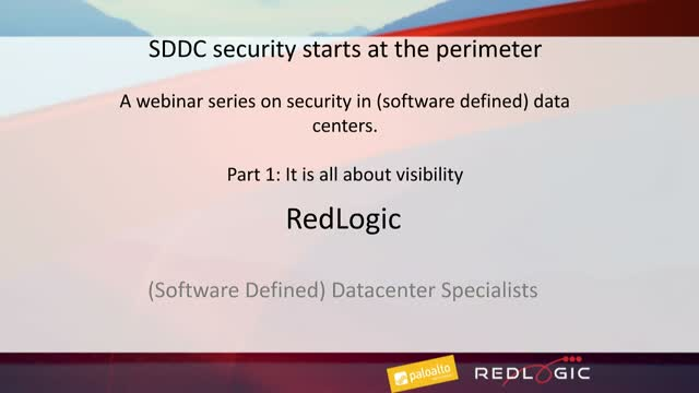 Software Defined Data Center starts at the perimeter