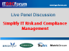Simplify IT Risk and Compliance Management