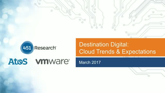 Destination Digital - plotting a new course for Digital Transformation w/ Cloud