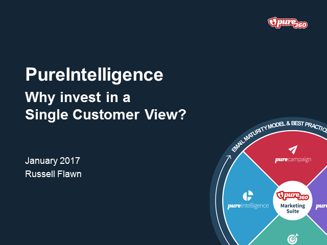 Why invest in a Single Customer View?